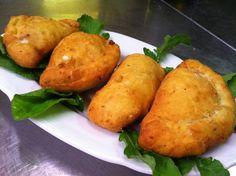 Panzerotti pomodoro e mozzarella