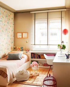 Dorm design, bedroom decor, home design, interior design Small Room Bedroom, Room Decor Bedroom, My Room, Girl Room, Design Bedroom, Dorm Design, Tiny Girls Bedroom, Box Room Bedroom Ideas, Bedroom Furniture
