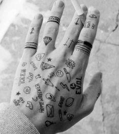 #hand #tattoo