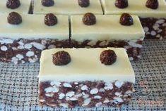 Kakaós-csokoládés szelet sütés nélkül | TopReceptek.hu