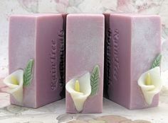 Geisha Cold Process Artisan Soap with by RainTreeBotanicals