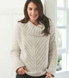 Fair trade organic cotton sweater hand-knit in Peru. Oh I would love this! From vivaterra.com