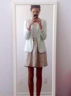 Fresh Office Outfit, for a perfect sunny day