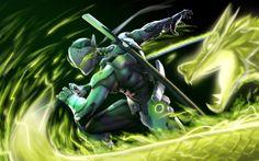 Resultado de imagem para high resolution overwatch wallpaper Genji