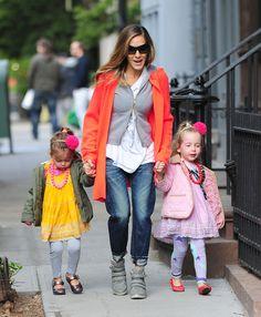 Sarah Jessica Parker and her adorably dressed kids