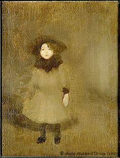 Eugène Carrière, Nelly Carrière, 1890 on Flickr.