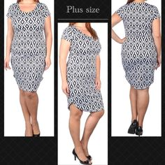 Gorgeous plus size dress Beautiful dress for this Spring . Price is firm unless bundled . No trades or Paypal . Dresses Midi