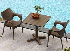 Olympia Trend patří mezi hity na zahradu. Outdoor Dining, Outdoor Tables, Dining Table, Outdoor Decor, Bar Restaurant, Contemporary, Modern, Outdoor Furniture Sets, Patio