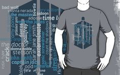 I can't wait to give my boyfriend his Doctor Who shirt. It was a long time figuring out exactly what to get him, but this is perfect.