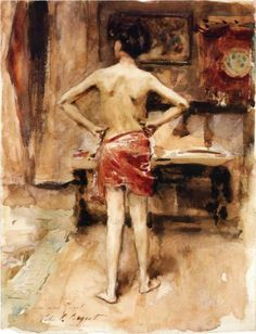 John Singer Sargent - The Model