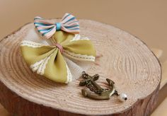 Retro Bowknot Anchor Beads Brooch For Women (AS THE PICTURE) | Sammydress.com