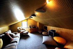 attic roof room interior decorating ideas