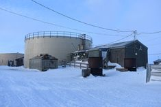 Life in the arctic without running water.