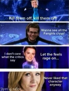 Haha this is very true but you forgot SUZANNE COLLINS