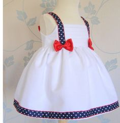 Four of July girl dress