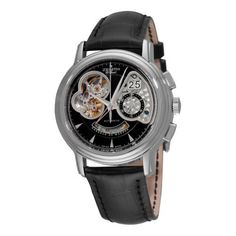 Best Men's watch#Luxury watches#Zenith Men's 03.0240.4039/21.c610 Chronomaster T Open Black Chronograph Dial Watch