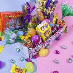 I entered to win this amazing Easter box of chocolate from PINCHme, you should too!