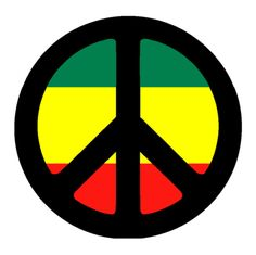 50 awesome peace sign tattoo designs and photos. Do you know where the peace symbol comes form? Reggae Rasta, Rasta Art, Hippie Peace, Hippie Art, Rasta Tattoo, Tatoos, Look Hip Hop, Peace Sign Tattoos, Caribbean