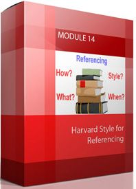 MODULE 14 Harvard Style for Referencing starting from $0.00