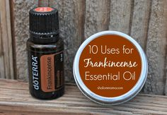 10 Uses for Frankincense Essential OIl. I love diffusing this with grapefruit essential oil, one of my favorite mixes :) http://www.draxe.com #draxe #essentialoils #frankincense