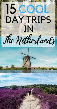 Day Trips Netherlands | Day Trips Amsterdam | Canals Amsterdam | Zaanse Schans | Castle de Haar | Rotterdam | Kinderdijk | Windmills in the Netherlands | Utrecht | De Hoge Veluwe | The Hague | Den Haag | Volendam | Typical Dutch Town | Maastricht | Museum Voorlinden | Keukenhof | Efteling | Orchideeën Hoeve in the province of Flevoland | Zeeland | Alkmaar | Madurodam | Giethoorn | The Netherlands inspiration | Holland