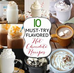 10 Must-Try Hot Choc