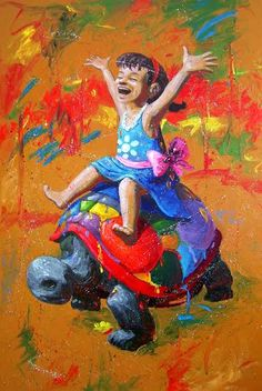 ¡Tortuga! Ricardo Cruz Fuentes Pintura Óleo sobre MDF 120 x 80 cms. 2015 $ 13, 500.00 M.N. www.galeriartenlinea.com #pasionporelarte - Exposición Colectiva Multidisciplinaria 46 Artistas, 74 piezas #arte #art #arts #pintura #painting #escultura #sculpture #dibujo #drawing #grafica #graphic  #colectiva #collective #color #life #vida #multidisciplinaria #multidisciplinary #galeria #gallery  #artists #artistaplastico #proyectonomada #CDI #centrodeportivoisraelita #gael #galeriartenlinea