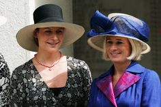 Lady Davina Lewis  and Lady Rose Gilman; Daughters of the Duke and Duchess of Gloucester