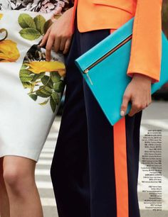 Vibrant Candid Captures : tommy ton for harpers bazaar korea may 2012