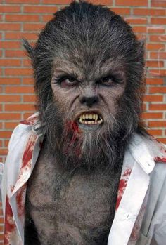 Werewolf makeup best yet!