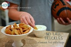 Homemade Fried Pickles - from Kristin Schell (so you know it's going to be good!) for The MOB Society