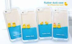 [iPhone6専用]Rubber duckぷかぷかアヒルケース