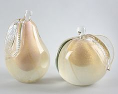 Collection of Italian Glass Pears and Apples image 5