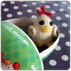 Hæklet kylling
