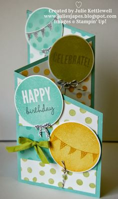 Stampin' Up! UK Independent Demonstrator - Julie Kettlewell: Last Celebrations