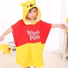 Poncho enfant Winnie l'ourson