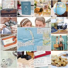 Travel theme wedding - good ideas, but maybe not have the theme OVERTAKE my wedding...