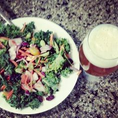 Super Salad and Super Beer