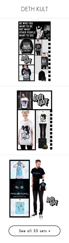 """""""DETH KULT"""" by irresistible-livingdeadgirl ❤ liked on Polyvore featuring emo, Punk, bands, dethkult, Ann Demeulemeester, Dr. Martens, men's fashion, menswear, StreetStyle and music"""