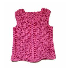 Pinky Girl Vest  FREE Shipping To UK by DaydreamDestination, £20.00