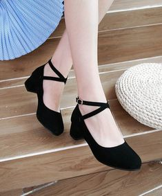 May 2020 - Buy Shoes Galore Block Heel Ankle Strap Pumps Satin Shoes, Strappy Shoes, Ankle Strap Heels, Ankle Straps, Pumps Heels, Low Heel Shoes, Ankle Strap Block Heel, Low Heels, Flat Prom Shoes