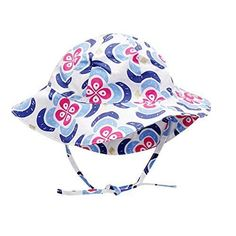 14d03787f82 IMLECK Baby Sun Hat Drawstring Adjust Head Size Breathable 50+ UPF Hats  Toddler  IMLECK