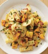 Rigatoni with Apple and Squash - on this weeks menu