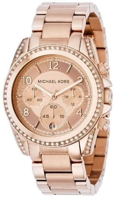 Save $62.13 on Michael Kors Women's MK5263 Blair Rose Gold-Tone Watch; only $212.87