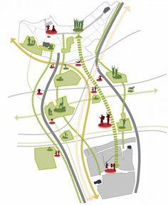 Masterplan for Mönchengladbach / Grimshaw Architects