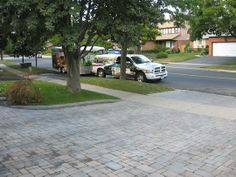 Hofstetter Landscaping driveway example