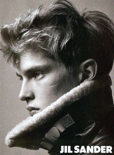 Mathias Lauridsen by David Sims for Jil Sander Fall 2004 ad campaign. Repinned by www.lecastingparisien.com
