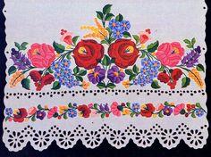 Embroidery of Kalocsa, Bács-Kiskun county, Hungary Chain Stitch Embroidery, Learn Embroidery, Embroidery Stitches, Embroidery Patterns, Hand Embroidery, Beginner Embroidery, Bordado Popular, Stitch Head, Art Tribal