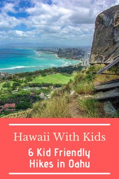 Planning on visiting Hawaii with the kids? Looking for some outdoor adventure? Then these six kid friendly hikes in Oahu are what you're looking for! Visit Hawaii, Oahu Hawaii, Travel Articles, Travel Info, Slow Travel, Travel Usa, Travel With Kids, Family Travel, Outdoor Travel