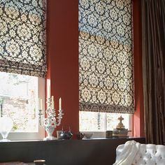 raffrollos ihre moderne fensterdekoration in 2018 traumhaus pinterest gardinen fenster. Black Bedroom Furniture Sets. Home Design Ideas
